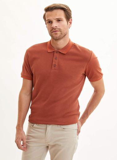 DeFacto Polo T-Shirt Bordo